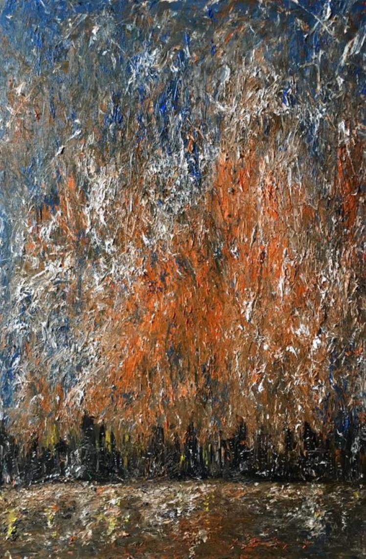 90后抽象画代表人物池静山恭贺全国人民2017新春大吉